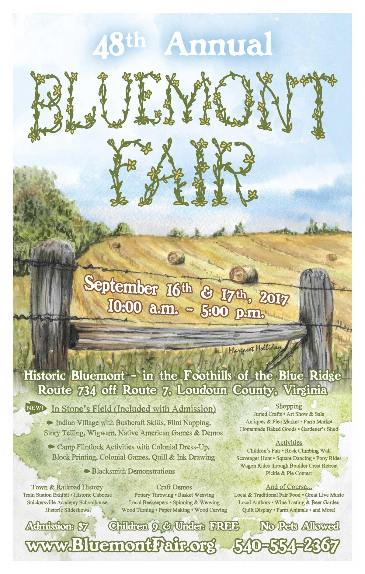 hayfield fair poster