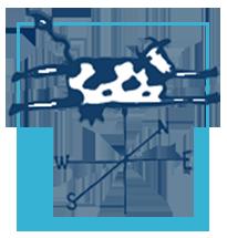 cow logo fair