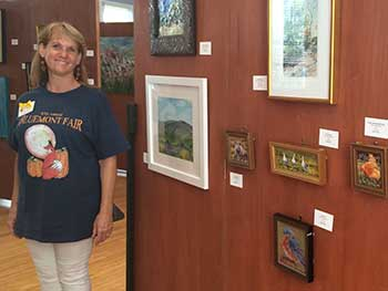 artists at the fair